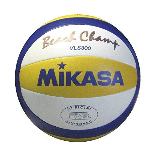 Mikasa Vls-300 Pallone Beach Volley, Blu/Giallo/Bianco, 5