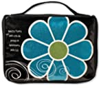 Mod Flower Sparkle Blue Medium Black...