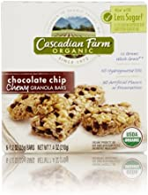 Cascadian Farm Organic Chewy Granola Bar, Chocolate Chip, 6 Count