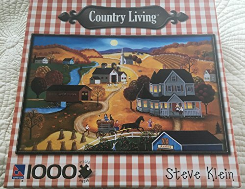 "Country Living - ""Autumn Moon"" by Steve Klein 1000 Piece Puzzle"