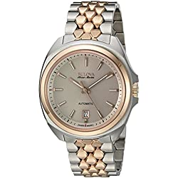 Bulova Accu 65B159 Men's Stainless Steel Automatic Watch