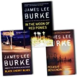 James Lee Burke James Lee Burke Collection Dave Robicheaux 3 Books Set Pack RRP: £23.97 (Pegasus Descending, Black Cherry Blues, In the Moon of Red Ponies)
