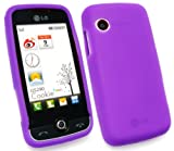 FLASH SUPERSTORE LG GS290 COOKIE FRESH SILICON CASE/COVER/SKIN PURPLE