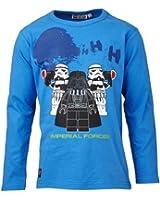 LEGO Wear Sweatshirt  Col ras du cou Opaque Garçon