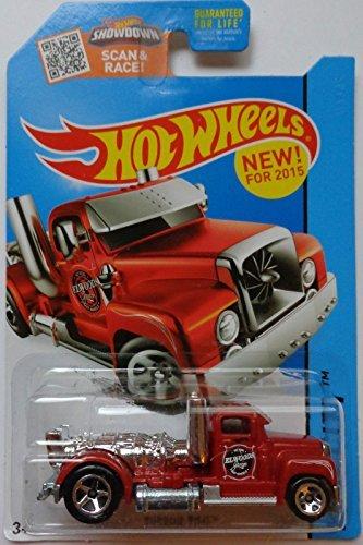 Hot Wheels, 2015 HW City, Turbine Time [Red] Die-Cast Vehicle #2/250