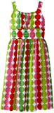 Rare Editions Girls 7-16 Dot Dress