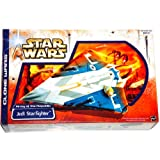 Jedi Starfighter (Blue) Star Wars Clone Wars Vehicle