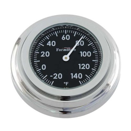 Formotion SL-21000 Superleggera Series Black Multi-Mount Thermometer