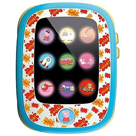 Lisciani Giochi 49318–Première tablette Peppa Pig