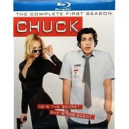 CHUCK S1 D1-3 BD [Blu-ray]