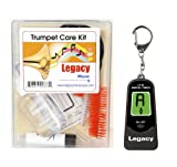 Legacy Trumpet Care and Maintenance Kit with BONUS LEGACY LT-01 Digital Chromatic Tuner