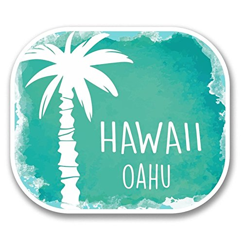 hawaii-oahu-decals-stickers-two-pack-cars-trucks-vans-walls-laptops-printed-color-2-4-in-decals-kcd5