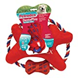 Petrodex Dentaplay Dental Fabric Flying Disc with Brushing Sleeve