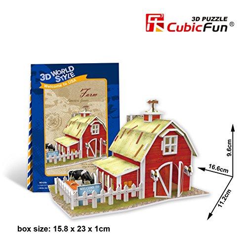 CubicFun 3D Puzzle World Style-Series ''American Flavor - Farm''