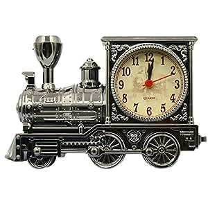 Vintage Retro Train Style Students Alarm Clock