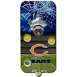 NFL Chicago Bears Clink-N-Drink Magnetic Bottle Opener