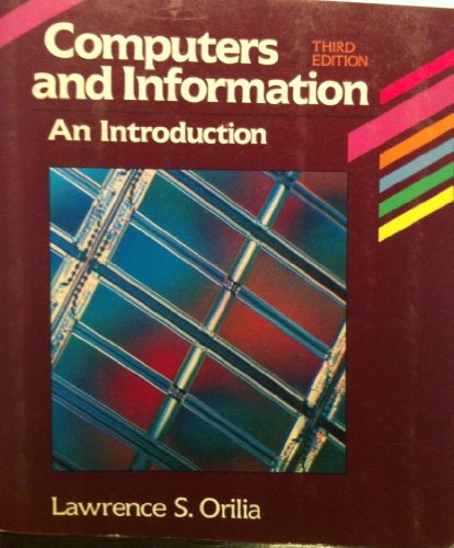 Computers and Information: An Introduction PDF