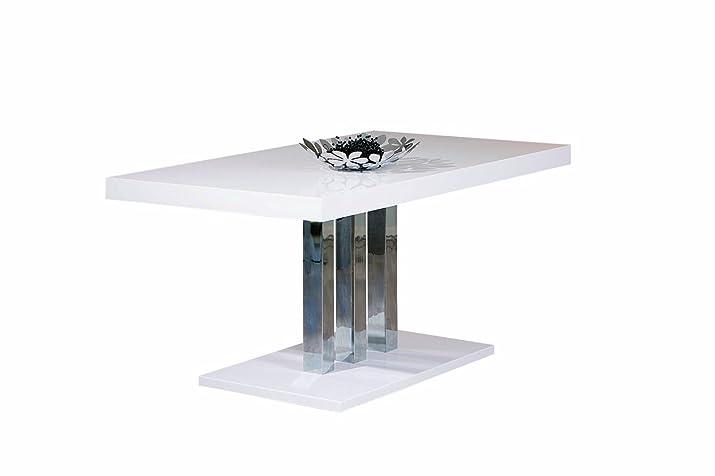 Links 20801170Palazzo tavolo bianco 160x 90x 75cm
