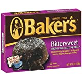Baker's Bittersweet Chocolate, 6-Ounce Boxes (Pack of 6)