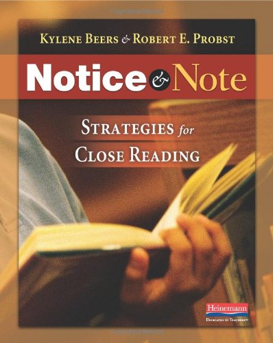 Download Notice & Note: Strategies for Close Reading