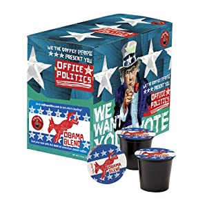 Coffee People K-Cup Obama Blend, 24-Count Box