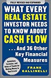 img - for By Frank Gallinelli What Every Real Estate Investor Needs to Know About Cash Flow... And 36 Other Key Financial Measures (2nd) [Paperback] book / textbook / text book