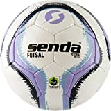 Senda Vitoria Match Futsal Soccer Ball, Fair Trade Certified, Purple/Light Blue, Size 4 (Ages 13 & Up)