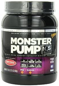 CytoSport Monster Pump Pre-Training Nitric Oxide Energy Catalyst 21.2 oz Fruit Punch