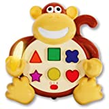 Early Learning Colors  and  Shapes Monkey Electronic Learning Toy