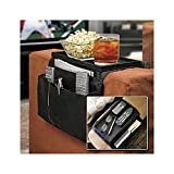 House of Quirk 6 Pocket Armrest Organizer with Armrest Tray