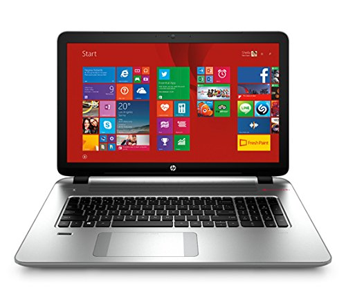 HP 17-k208tx 17.3-inch Touchscreen Laptop (Core i7-5500U/8GB/2TB/Win 8.1/4GB Graphics), Modern Silver