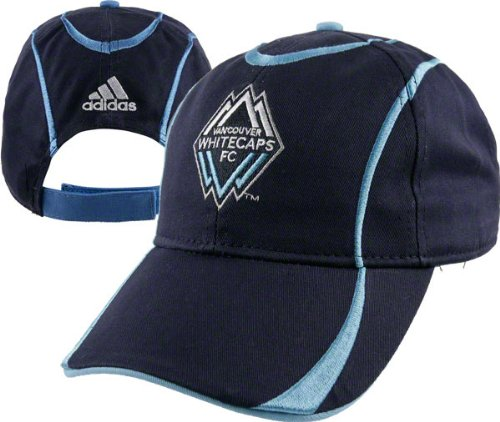 Vancouver Whitecaps Toddler adidas Soccer Team Logo Adjustable Hat