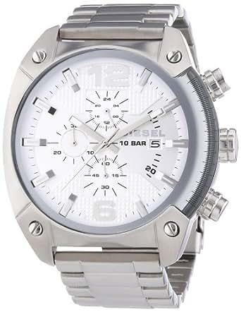 Diesel Men's Quartz Watch OverFlow DZ4203 with Metal Strap