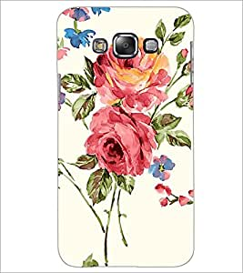 PrintDhaba Flower D-2214 Back Case Cover for SAMSUNG GALAXY GRAND MAX (Multi-Coloured)