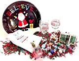 Lindt Deluxe Wine & Chocolate Candy Lovers Christmas Holiday Gift Basket Bowl Gift Set (STSH)
