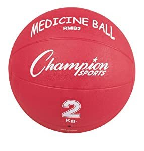 Champion Sports Rubber Medicine Balls by Champion Sports
