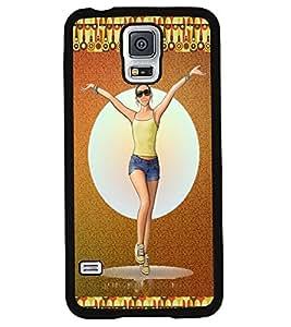Printvisa 2D Printed Girly Designer back case cover for Samsung S5 Mini - D4159