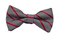 Born to Love - Boys Kids Pre Tied Bowtie Christmas Holiday Party Dress Up Bow Tie