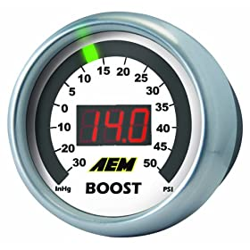 AEM 30-4406 -30-35 PSI Boost Gauge