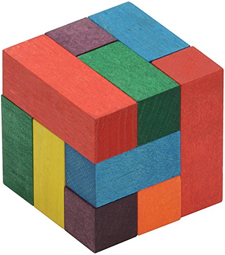 Color Soma Cube - Made in USA