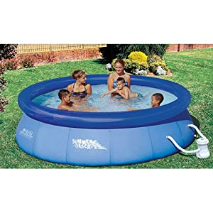 Summer escapes 10 feet by 30 inch quick set for 30 ft garden pool