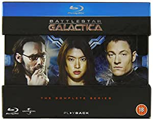 Battlestar Galactica: The Complete Series [Blu-ray] [2004-2009] [Region Free] [1978]