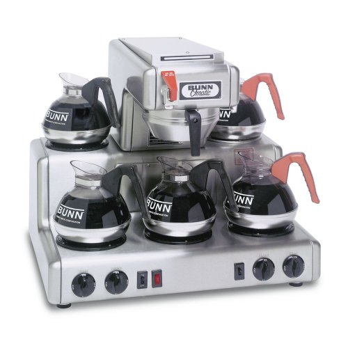 Bunn RTF 12 Cup Automatic Coffee Brewer w/ 5 Warmers and Faucet