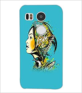 PrintDhaba Abstract Design D-5621 Back Case Cover for LG NEXUS 5X (Multi-Coloured)