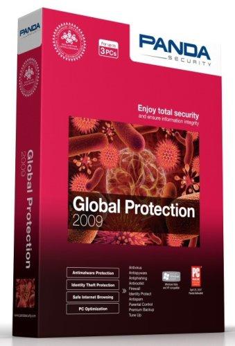 Panda Global Protection AntiVirus 2009 Pro 3 users 1 year (PC CD)