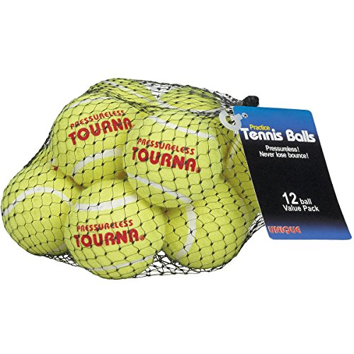 Tourna Mesh Pack of 12 Tennis Balls