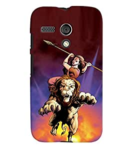 Motorola Moto G MULTICOLOR PRINTED BACK COVER FROM GADGET LOOKS