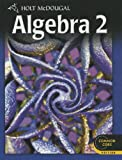 img - for Holt McDougal Algebra 2: Student Edition 2012 book / textbook / text book