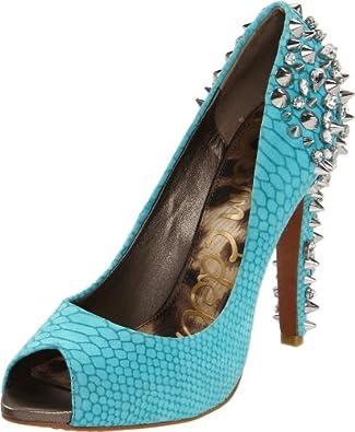 Sam Edelman Women's The Lorissa Shoe 7.5 Aqua