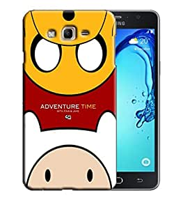 PrintFunny Designer Printed Case For Samsung J2